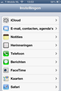 iPhone - Hosted Exchange 2